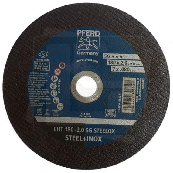 Disco de Corte 180 2,0 SG STEELOX - PFERD