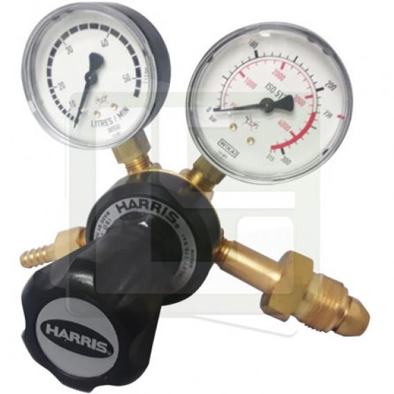 Regulador de Pressão 801-DB-50L- Argônio / Misturas - HARRIS