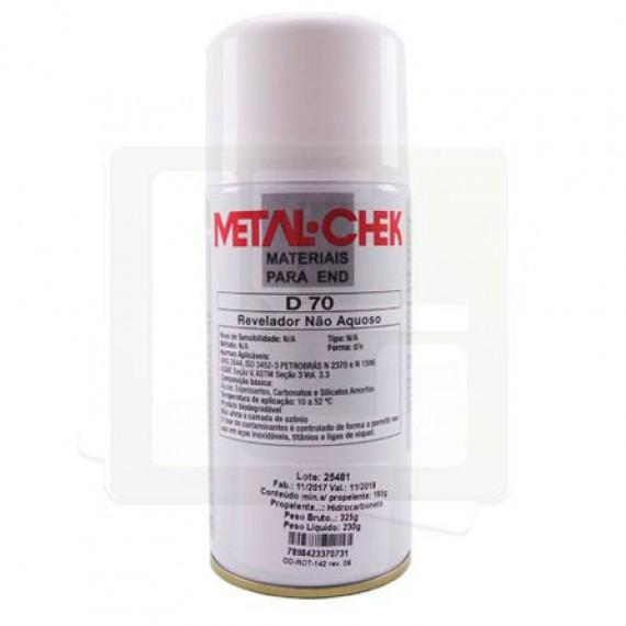 Revelador não aquoso D70 - Metal Check