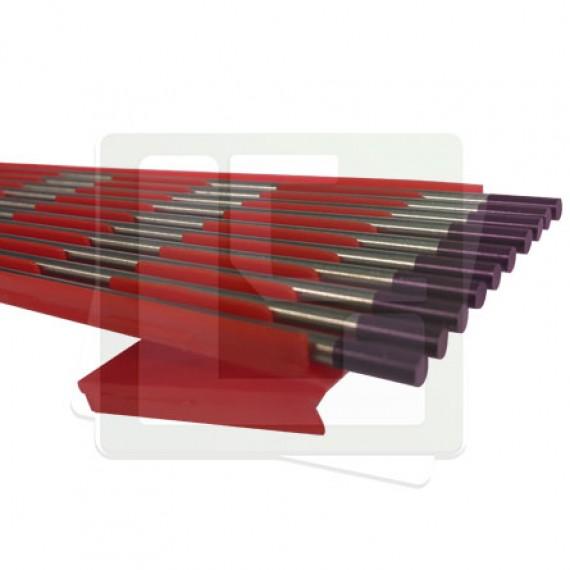 Eletrodo Tungstênio E3 2,4mm X 150mm P Lilás