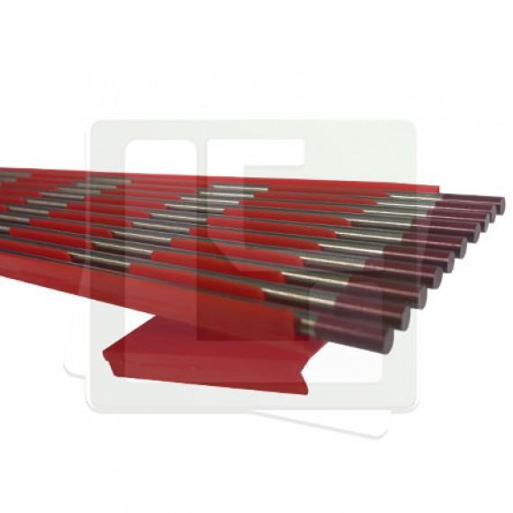 Eletrodo Tungstênio 3,2mm X 150mm P. Vermelha