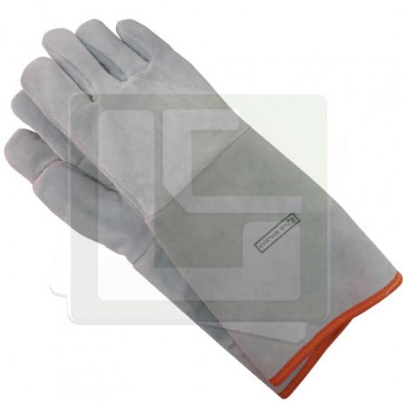 Luva soldador Raspa Forrada 20cm - LC SOLDAS